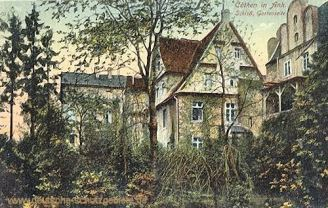 Köthen, Schloss, Gartenseite
