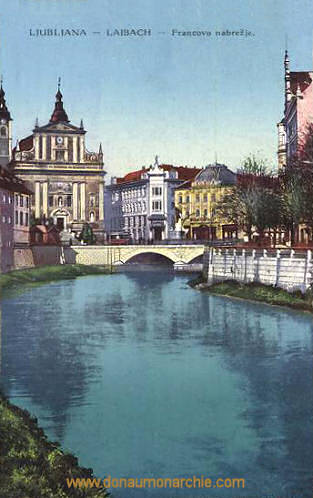 Ljubljana - Laibach, Francovo nabrežje