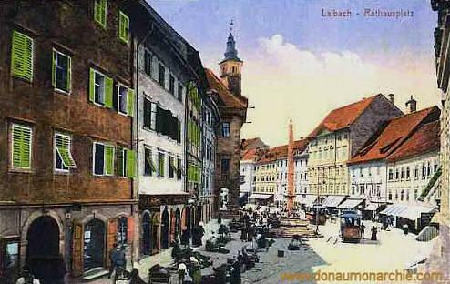 Laibach, Rathausplatz