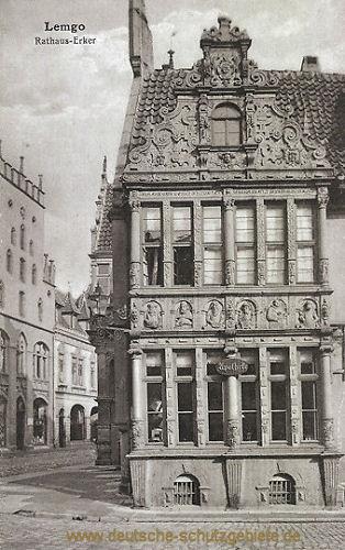 Lemgo, Rathaus-Erker