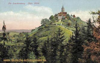 Die Leuchtenburg, Thüringer Wald