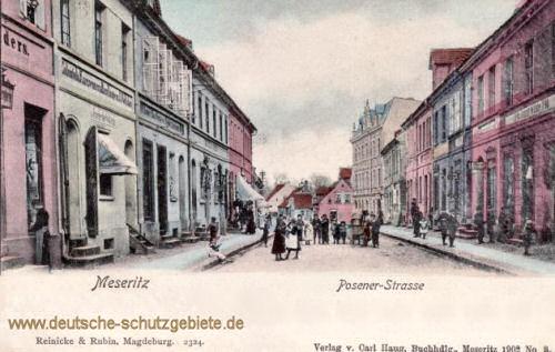 Meseritz, Posener Straße
