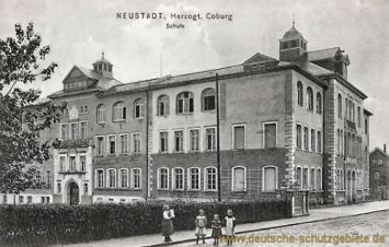 Neustadt, Herzogtum Coburg, Schule