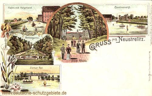 Gruß aus Neustrelitz
