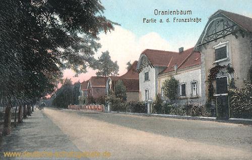Oranienbaum, Franzstraße