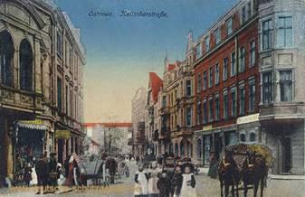 Ostrowo, Kalischerstraße