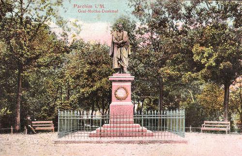 Parchim i. M., Graf Moltke-Denkmal