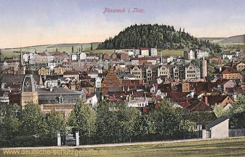 Pößneck in Thüringen
