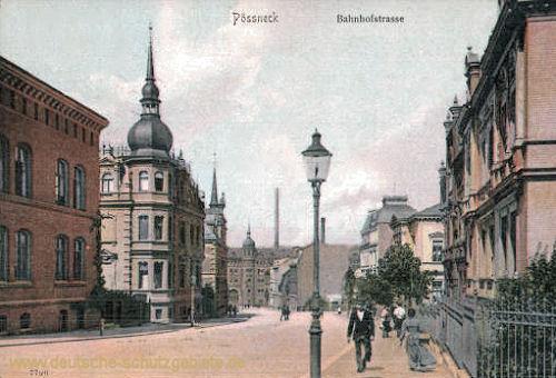 Pößneck, Bahnhofstraße
