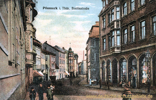 Pößneck, Breitestraße