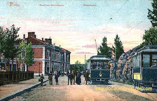 Pola, Staatsbahn