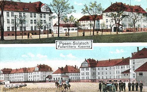 Posen-Solatsch, Fußartillerie Kaserne