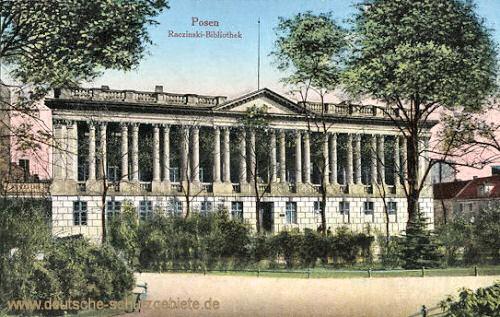 Posen, Raczinski-Bibliothek