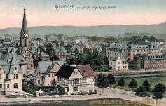 Rudolstadt, Blick auf Rudolstadt