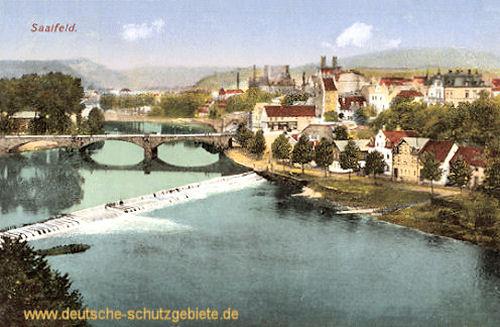 Saalfeld, neue Brücke