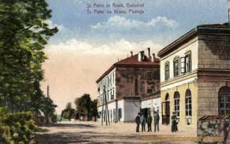Sankt Peter in Krain, Bahnhof