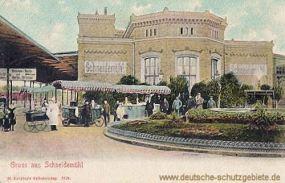 Schneidemühl, Bahnhof