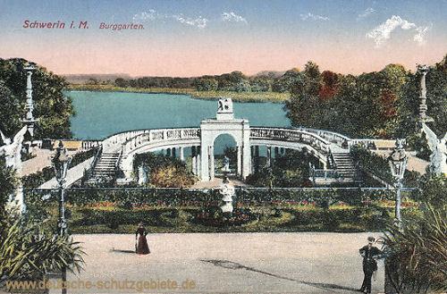Schwerin i. M., Burggarten