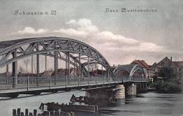 Schwerin an der Warthe, Neue Warthebrücke