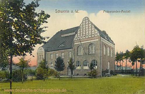 Schwerin an der Warthe, Präparantenanstalt