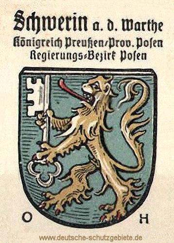 Schwerin an der Warthe, Wappen