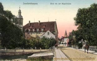 Sondershausen, Blick von der Wipperbrücke