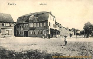 Stadtilm, Kellertor