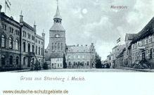 Sternberg in Mecklenburg, Marktplatz
