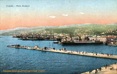 Trieste, Molo Audace