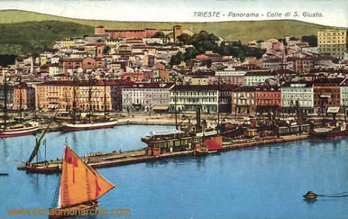 Trieste - Panorama - Colle di S. Giusto