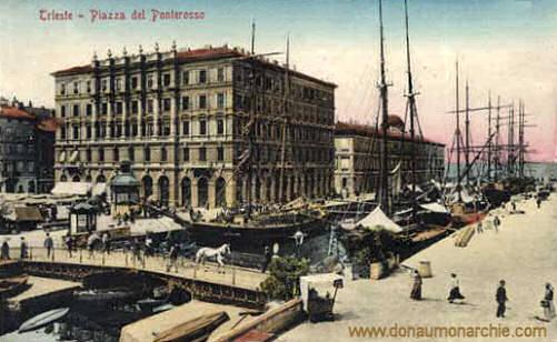Trieste, Piazza del Ponterosso