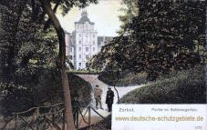 Zerbst, Schlossgarten