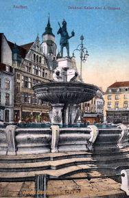 Aachen, Denkmal Kaiser Karl d. Großen