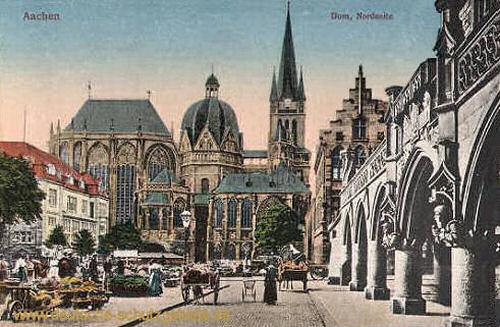 Aachen, Dom, Nordseite