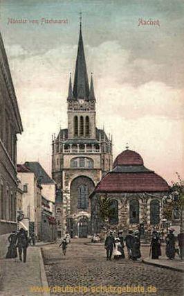 Aachen, Münster vom Fischmarkt