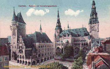 Aachen, Rathaus mit Verwaltungsgebäude