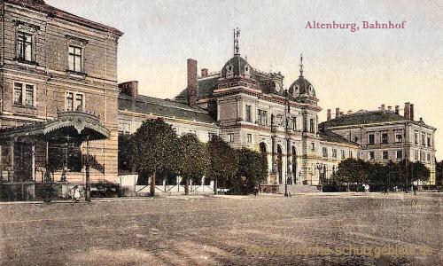 Altenburg, Bahnhof
