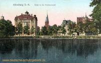 Altenburg, Blick in die Teichvorstadt
