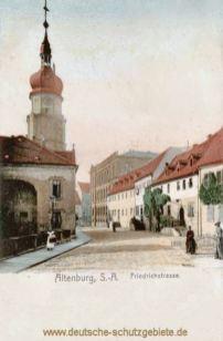 Altenburg, Friedrichstraße