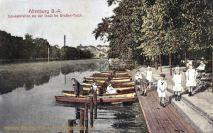 Altenburg, Gondelstation an der Insel im Großen Teich