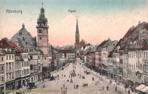 Altenburg, Markt