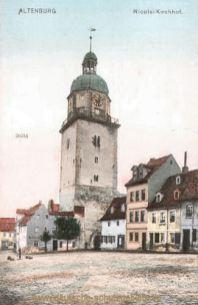 Altenburg, Nicolai-Kirchhof