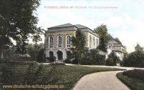 Altenburg, Partie am Teesalon mit Schlossgärtnerei