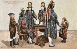Altenburger Bauerntrachten, Hormedjungfern