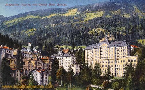 Bad Gastein, Grand Hotel Europe
