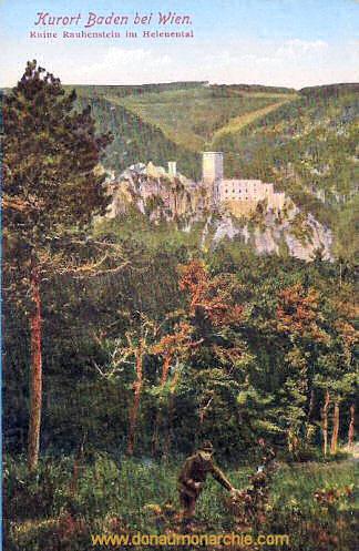 Baden bei Wien, Ruine Rauhenstein im Helenental