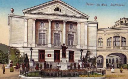 Baden bei Wien, Stadttheater