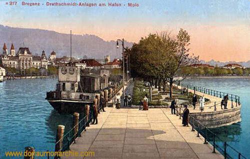 Bregenz, Drathschmidt-Anlagen am Hafen