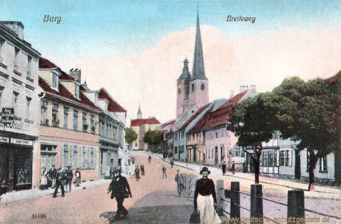 Burg b. M., Breiteweg