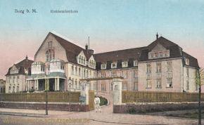 Burg b. M., Kreiskrankenhaus